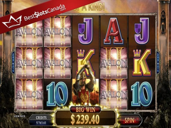 Avalon II Online Slot Super Big Win