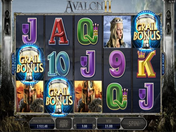 Avalon II Online Slot Bonus Hit