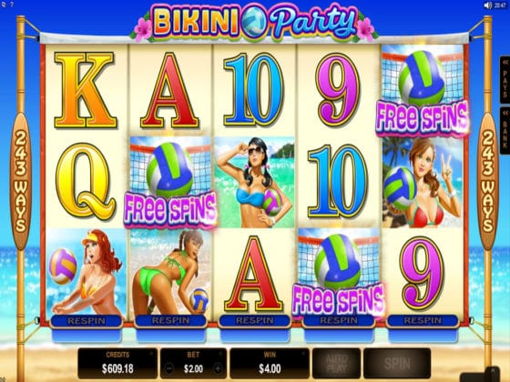 Bikini Party Online Slot Bonus Hit