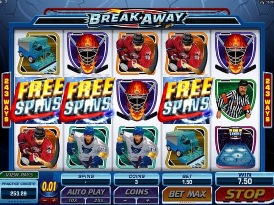 Break Away Online Slot Bonus Hit