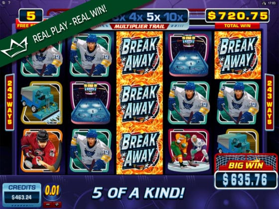 Break Away Online Slot Bonus Big Win
