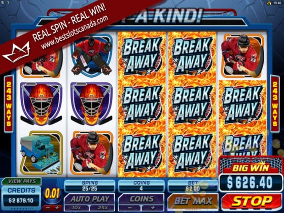 Break Away Online Slot Mega Big Win