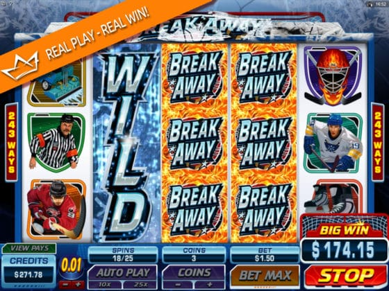 Break Away Online Slot Smashing WILD Feature