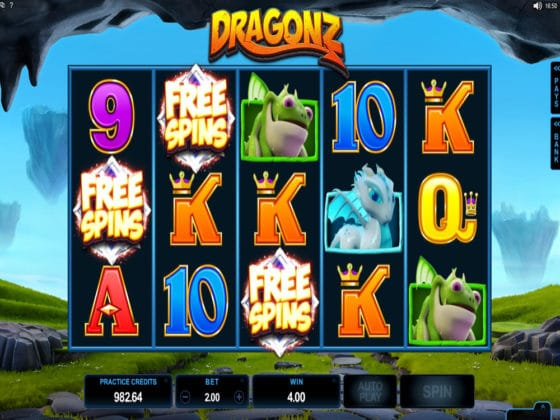 Dragonz Online Slot Bonus Hit