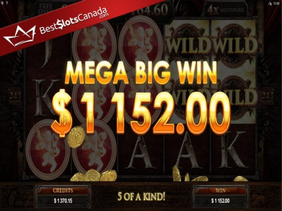 Game of Thrones Online Slot MEGA Big Win