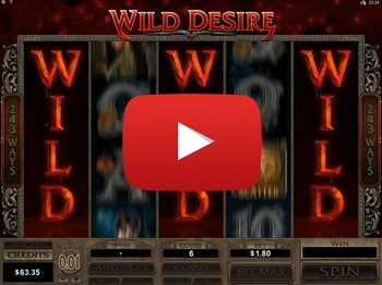 Immortal Romance Wild Desire Mega Big Win