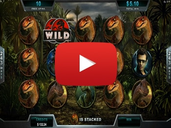 Jurassic Park Velociraptor Bonus Super Big Win