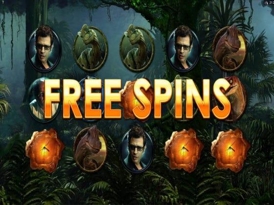 Jurassic Park Online Slot Bonus Hit