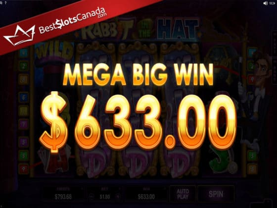 Rabbit in the Hat Online Slot Mega Big Win