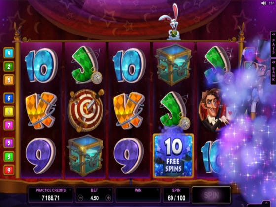 Rabbit in the Hat Online Slot Bonus Hit