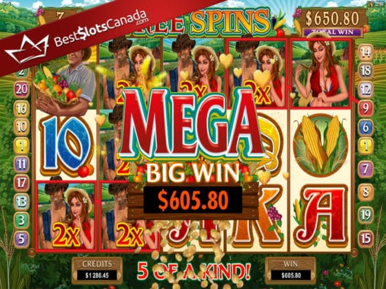 Sweet Harvest Online Slot MEGA Big Win