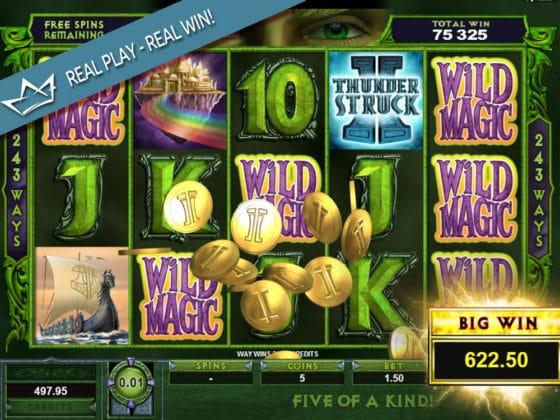 Thunderstruck II Online Slot Loki Mega Win
