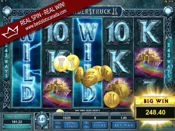 Thunderstruck II Online Slot WILDSTORM