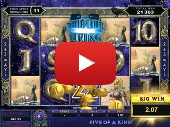 Thunderstruck II Odin Bonus Super Big Win